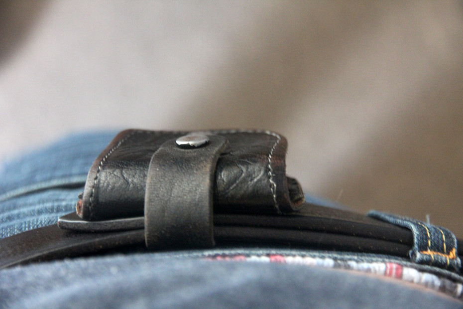 Subtle belt pouch
