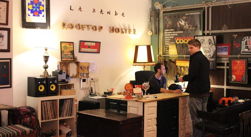 La Banda Rooftop Hostel in Spain