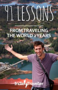 Get a taste of what it's like to go backpacking long-term with these impressions from my 2-year trip. #Travel #SoloTravel #IndieTravel #IndieTraveller