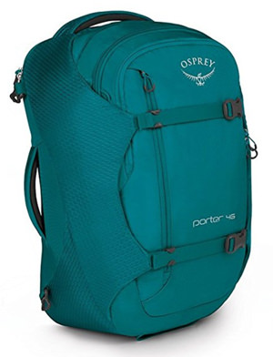 Osprey Porter 46 in teal color