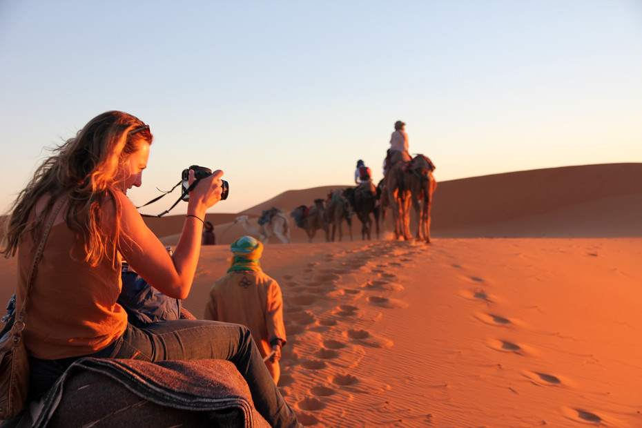 Sahara Desert in Morocco - a stable and cheap holiday choice in North Africa