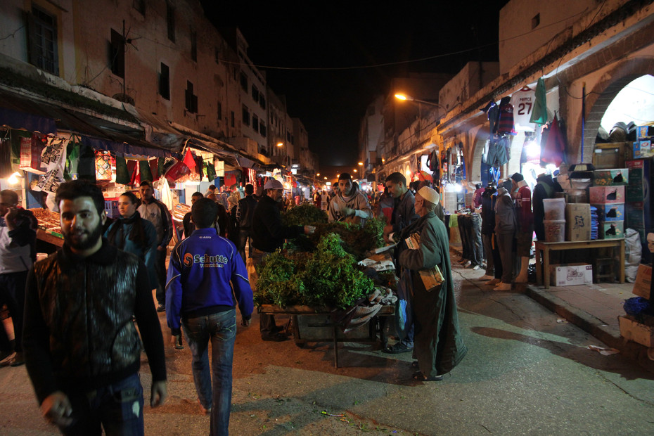Essaouira's night markets