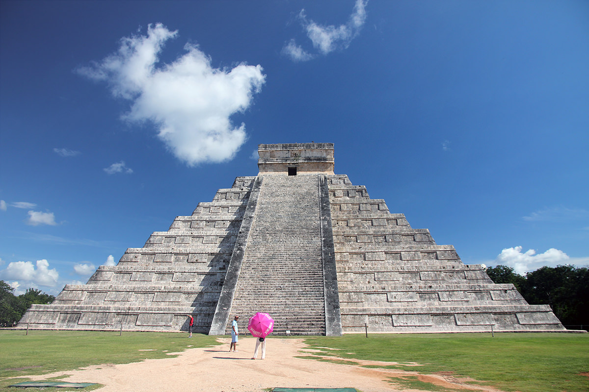 The ancient Mayan ruins of Chichen Itza