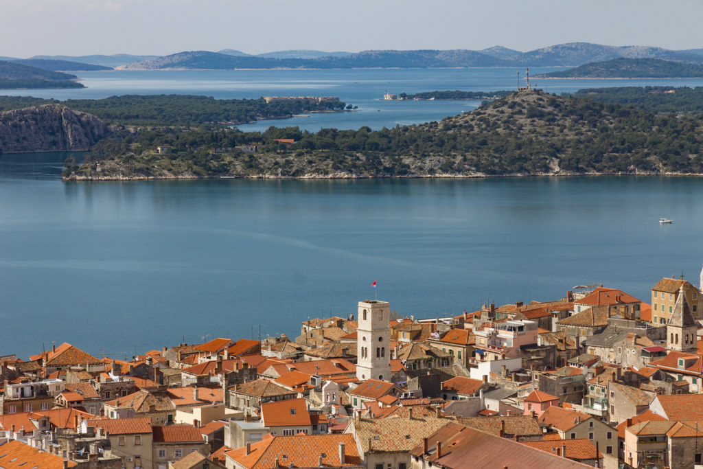 Sibenik in Croatia; a cheaper place than Split or Zadar