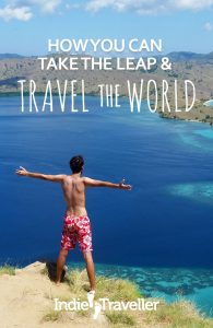 Practical, actionable advice on how to fund and go on a world trip, whether you want to go backpacking, round-the-world, or become a digital nomad. #Travel #LongTermTravel #TravelTheWorld #SoloTravel #IndieTravel #IndieTraveller