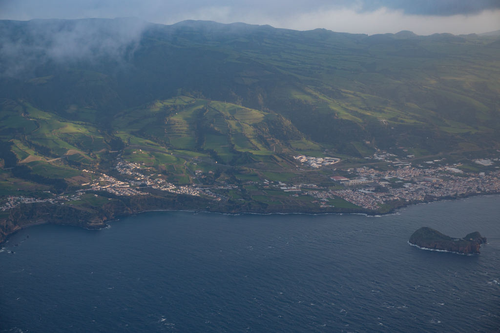 Sao Miguel seen from the air