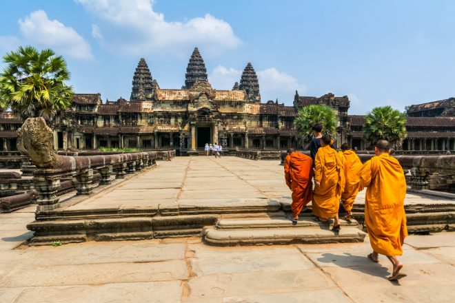Angkor Wat in Cambodia, the cheapest country in Southeast Asia