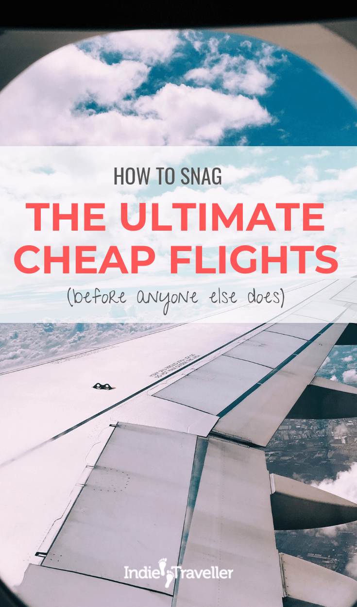 Finding Cheap Flights: Using popular flight search engines only gets you so far. Learn about using other tools that let you find secret flight deals! #FindCheapFlights #BudgetTravel #Travel #TravelTips #SoloTravel #IndieTravel #IndieTraveller